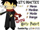 Let's Practice Mean, Median, Mode, and Range (with Harry Potter)