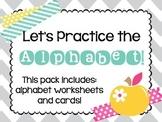 Let's Practice the Alphabet!