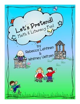 Let's Pretend {Math & Literacy Fun!}