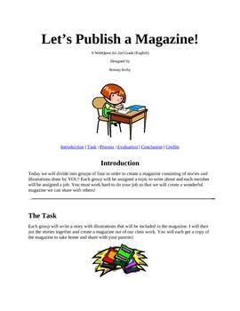 Let's Publish a Magazine!