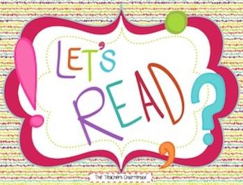 """""""Let's READ!"""""""