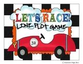 Let's Race Line Plot Game