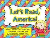 Let's Read, America! FREEBIE