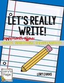 Let's Really Write