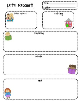 Let's Recount - Graphic Organizer