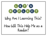 """""""Let's Reflect!"""" Classroom Poster"""