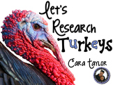 Let's Research Turkeys ~ Thanksgiving Unit