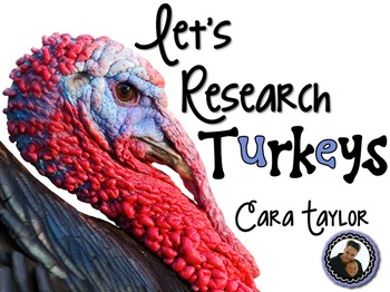 Let's Research Turkeys ~ Thanksgiving Unit