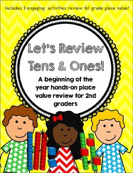 Let's Review Tens and Ones! {A Beginning of the Year Revie