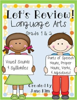 Let's Review!~Language Arts Grade 1 & 2
