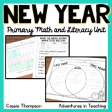 Happy New Year: Math and Literacy Printables