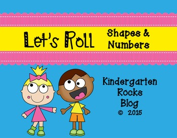 Let's Roll Shapes & Numbers Center