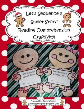 Let's Sequence a Sweet Story! Reading Craftivity to Use With Any Book!