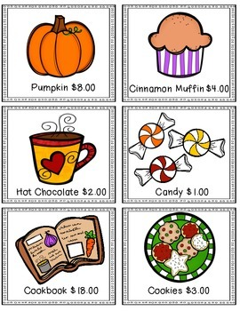Let's Shop! An Adding Money Center and Worksheets for 2nd or 3rd Grade