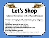 Let's Shop Counting Money Game
