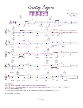 Let's Sing About Counting!