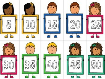 Skip Count - Flashcards