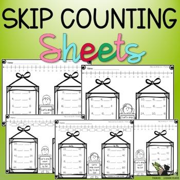 Skip Count! - Worksheets