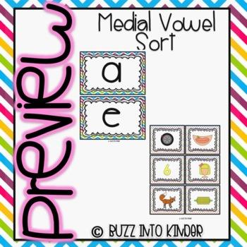 Let's Sort By Medial Vowels!