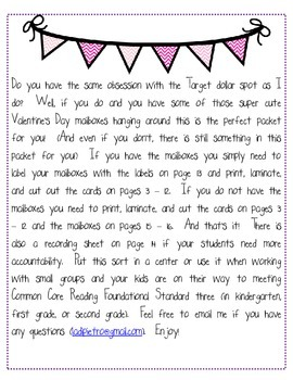 Let's Sort Some Love Letters