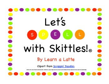 Let's Spell with Skittles - 2 Fun Games to Practice Spelling Words & Sight Words