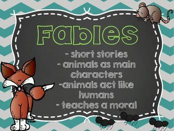 Let's Study Fables! - A Genre Study