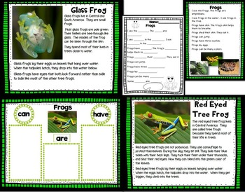 Let's Take A Closer Look: Frogs (K-2 Close Reading Unit)