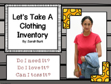 Let's Take A Clothing Inventory {Family Consumer Sciences, Home Economics}