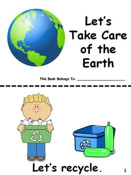 Let's Take Care of the Earth Easy Reader