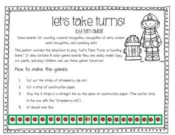 Counting Game: Let's Take Turns