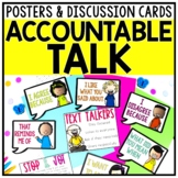 Accountable Talk Posters Talking Stems & Bookmarks
