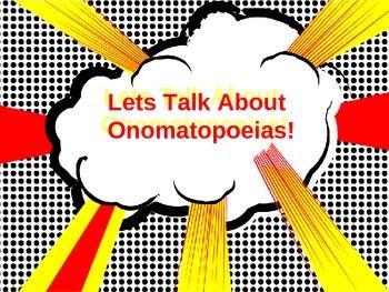 Let's Talk About Onomatopoeias!