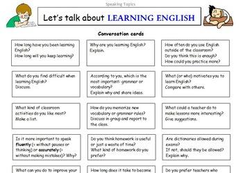 ESL Let's Talk About Series - Conversation Worksheets Bundle - 65 EFL  worksheets