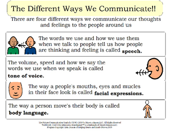 Lets Talk About Talk - Communication Book