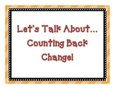 Let's Talk About...Counting Back Change!