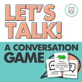 Let's Talk! A Conversation Game: Targets Social Language Skills