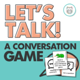 Let's Talk! A Conversation Game: Targets Social Language Skills