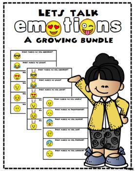 Lets Talk Emotions - A Growing Bundle