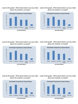 Let's Talk Graphs! Graphing Lessons and Task Cards for Small Group