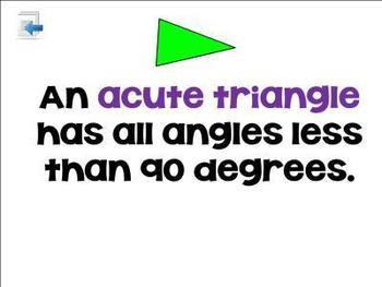 Let's Talk Triangles SMART Board Lesson