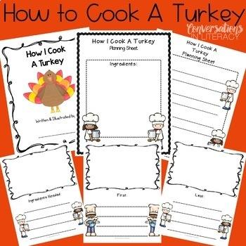 Thanksgiving Activities Let's Talk Turkey!