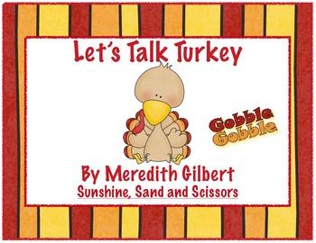 Let's Talk Turkey Literacy Unit