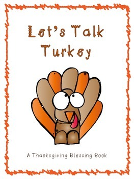 Let's Talk Turkey (Thanksgiving coloring/activity book)