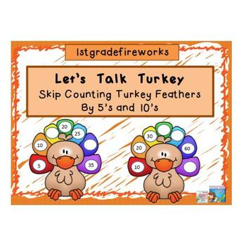 Let's Talk Turkey..skip counting by 5s &10s