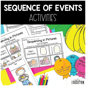 Sequence of Events Activities for the whole year!