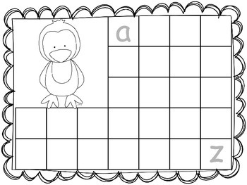 Let's Trace the Alphabet! With Baby Penguins