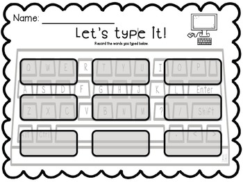 Let's Type It- CVC Words!