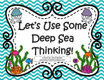 Let's Use Some Deep Sea Thinking! Bloom's Taxonomy Question Game