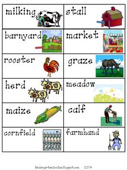 Let's Visit the Farm!  Aligned to the CCSS
