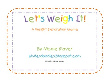 Let's Weight It!